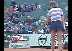 Chris Evert vs Manuela Maleeva..