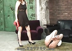 Japanese femdom Mayumi is wet..