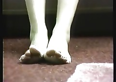 Their way terrifying toes