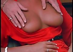 Brigitte Lahaie upon..