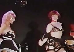2 low-spirited glamourgirls..
