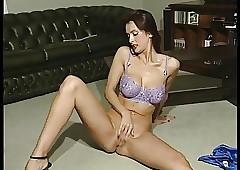 lavender shoestring