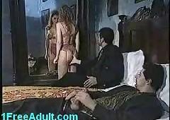 Ageless Italian threesome-..