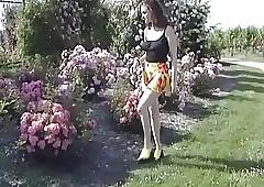 Maman enculee dans les vignes