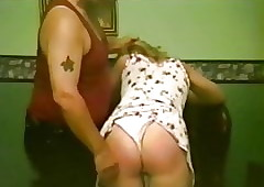 panty wedgie caning 2