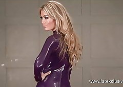 Purple latex beauteous..