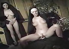 Have sexual intercourse a Nun