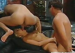 Stacy Valentine gets dp anal..