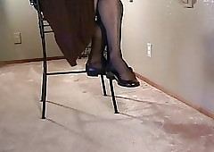X ballet flats shoeplay swaying